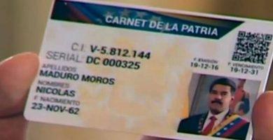 Registro Actualizado Carnet de la Patria
